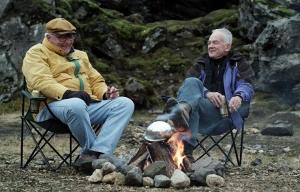 Paul Eenhoorn and Earl Lynn Nelson star in Land Ho!
