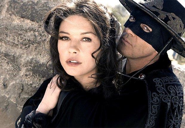 Catherine Zeta-Jones, Antonio Banderas, latin lovers del cine