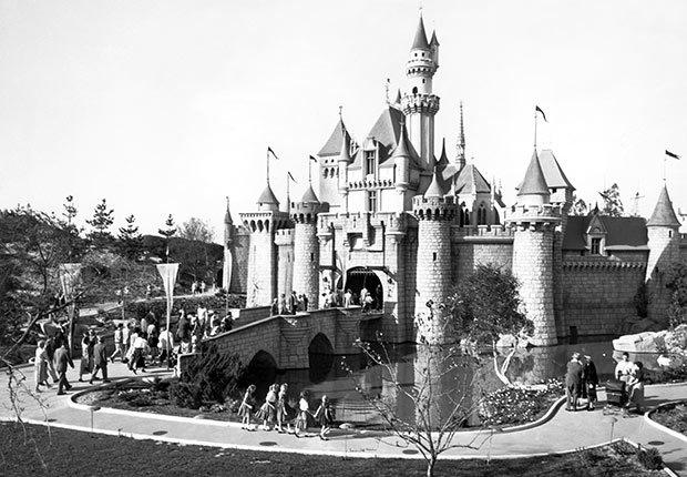Foto del castillo de la Bella Durmiente - La carrera de Walt Disney