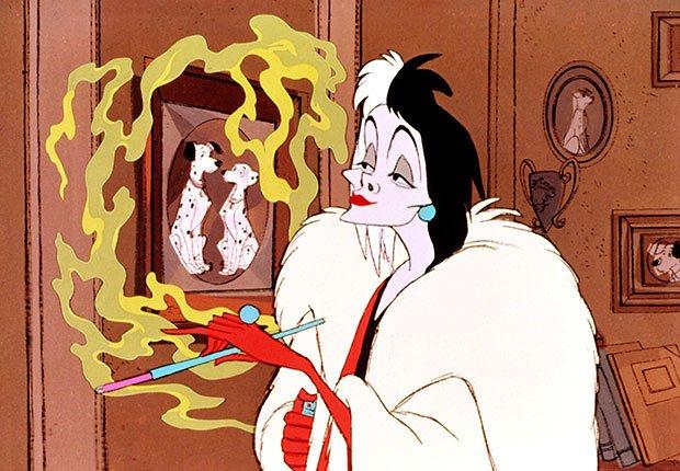 Escena de 101 Dalmatas - La carrera de Walt Disney