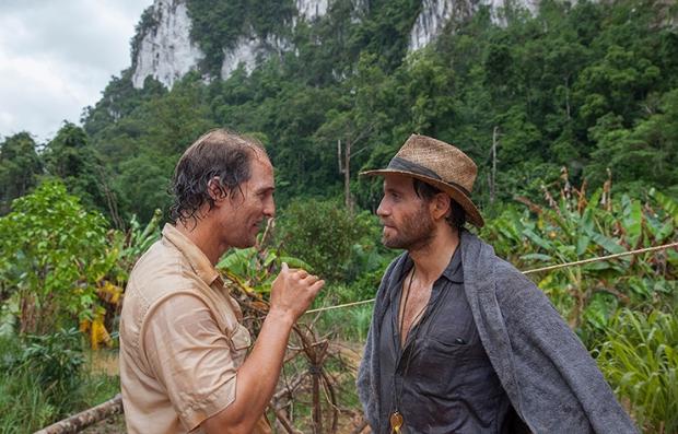 Matthew McConaughey y Édgar Ramírez en una escena de la película 'Gold'