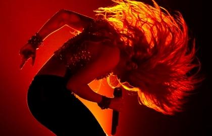 Shakira, cantautora colombiana.