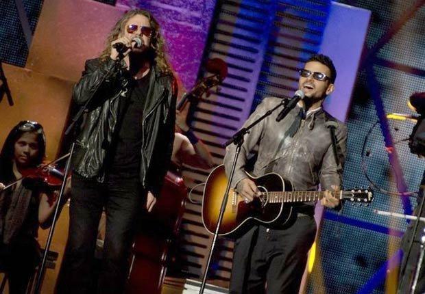 Maná y Robi Draco Rosa en los premios BillBoard 2013