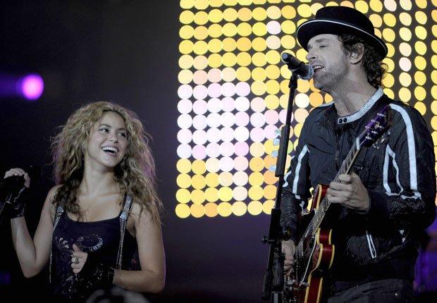 Shakira y Gustavo Cerati