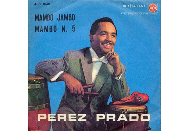 Damaso Pérez Prado, portada de su disco Mambo Jambo, Mambo N. 5