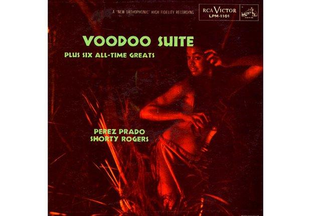 Dámaso Pérez Prado, Shorty Rogers - Portada del disco Voodoo Suite.
