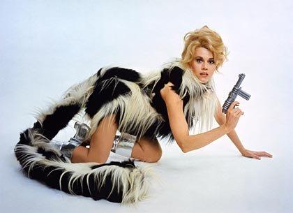 Jane Fonda en Barbarella, 1968.