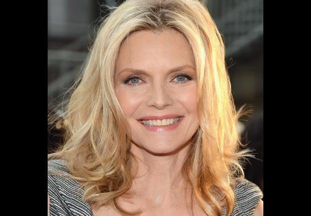 Actriz Michelle Pfeiffer - Artistas con 50 años o más