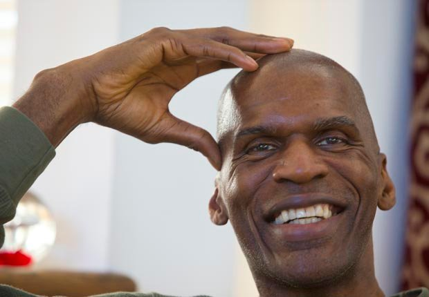 Robert Parish turns 60 on August 30 (Stan Grossfeld/The Boston Globe/Getty Images)