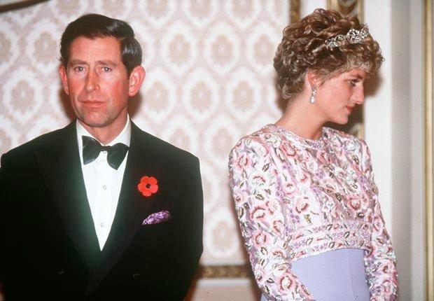 Princes Diana, looks away (Anwar Hussein/PA Photos /Landov)