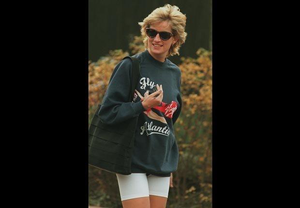 Princes Diana, workout clothes (Andrew Murray/Sygma/Corbis)