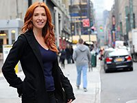 Poppy Montgomery plays a character based on the memory ability of Marilu Henner