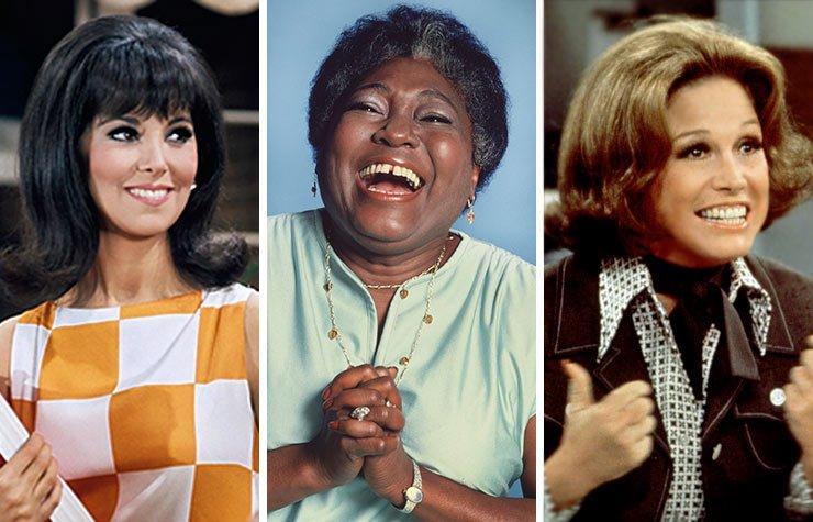 Marlo Thomas, Esther Rolle y Mary Tyler Moore, Las mujeres que cambiaron la televisión