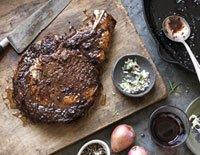 steak dinner outdoors