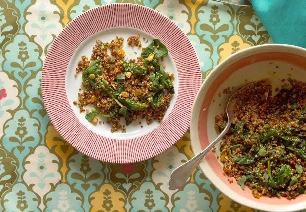 Quinoa con  limón y especias - 10 beneficios de salud de la quinoa