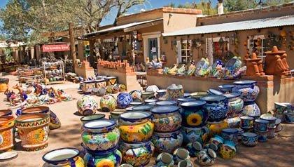 --— Artesanía en Tubac, Arizona