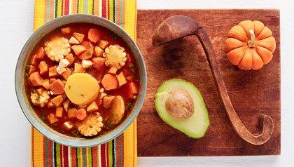 Ajiaco colombiano - receta de Dennise Oller