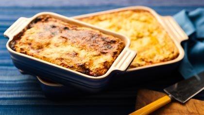 Pastel de yuca y pollo - Receta de Denisse Oller