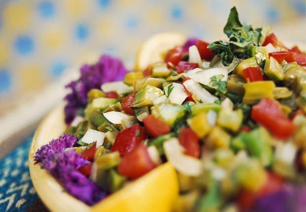 Ensalada de Nopales - 10 ensaladas que le van a encantar