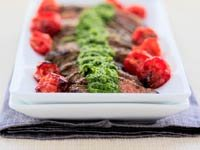 Churrasco con Salsa Chimichurri