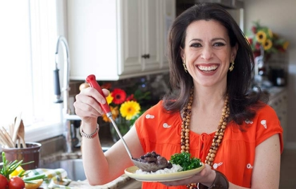 Chef Leticia Moreinos profile kitchen cooking recipe