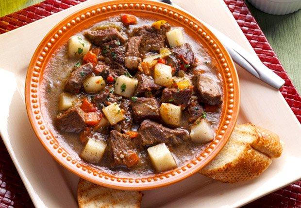 Mediterranean stew, carne guisada con toque mediterraneo, 10 Recipes for Autumn
