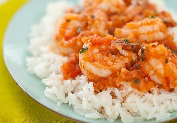 Recetas de camarones con sabor latino - Camarones con chipotle