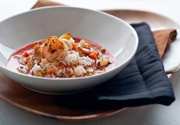 Recetas de camarones con sabor latino - Chupe de camarones