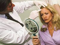 Skin care, actress Shannon Tweed uses botulinum toxin, a chemical that paralyzes skin-wrinkling muscles.