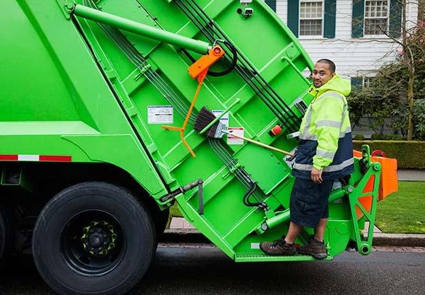 Camion de la basura