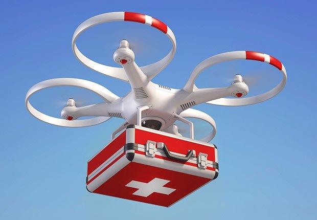 Dron médico - Futuro de la medicina