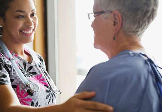 Personal médico y paciente