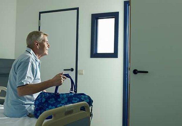 Paciente que ha sido dado de alta
