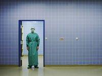 doctor in doorway