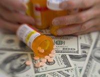 Hands, money, medicine