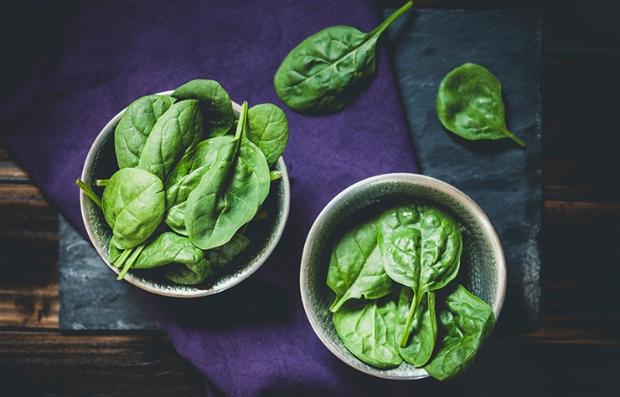 Espinaca y la importancia de la vitamina K
