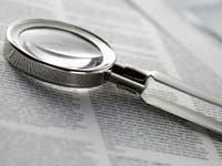 Ley de Reforma de Salud - Lente de aumento en un documento legal