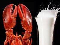 Un cangrejo y un vaso de leche - que tanto sabe usted sobre las grasas malas para su cuerpo