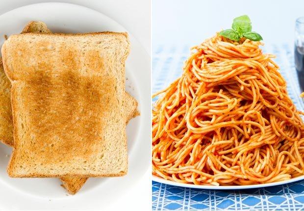 Desayuno y comidas - 7 razones por las que estamos gordos
