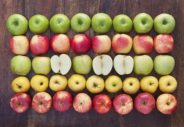 Manzanas - 9 alimentos que te ayudan a quemar la grasa