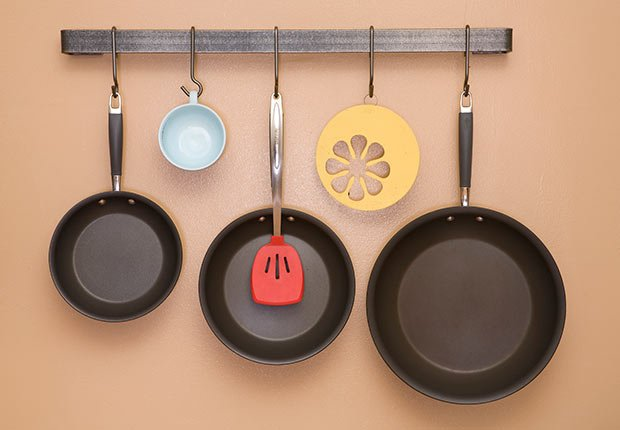 Throw Out Things Non Stick Pans Scratched ESP
