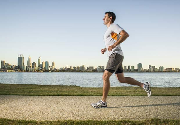 Fitness Flash High Intensity Training Health Benefits Diabetes Risk Lower Run City Skyline ESP