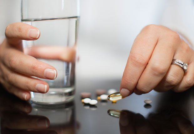 Throw Out Things Vitamins Expired Glass Water ESP