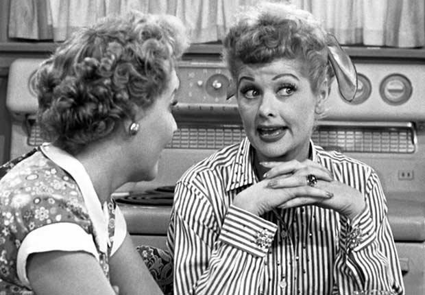 Escena de I love Lucy - Lo bueno de los malos hábitos