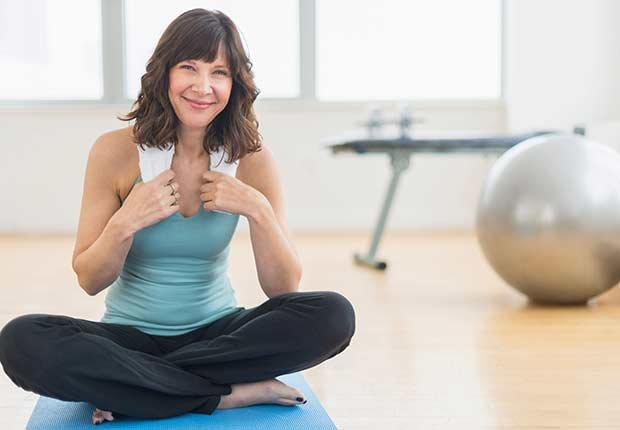 How to Not Put On Holiday Weight Yoga Intro Woman ESP