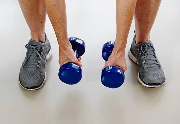 Haciendo ejercicios - Malos hábitos después de comer