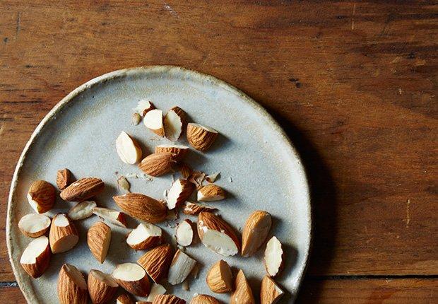 Almendras - Alimentos que reducen el estrés
