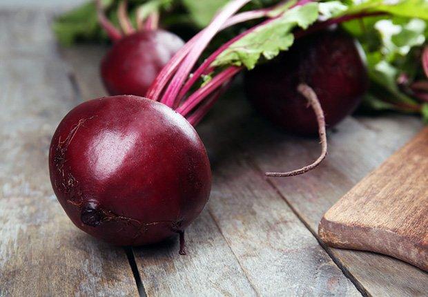 Remolacha - Alimentos que reducen el estrés