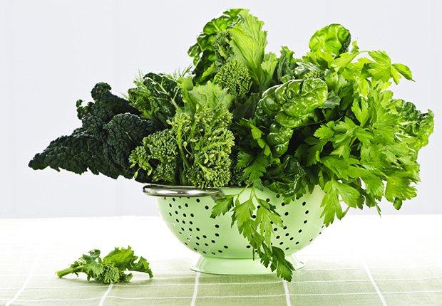 Ensalada verde - Alimentos que reducen el estrés