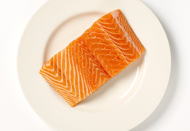 Salmon - Alimentos que reducen el estrés